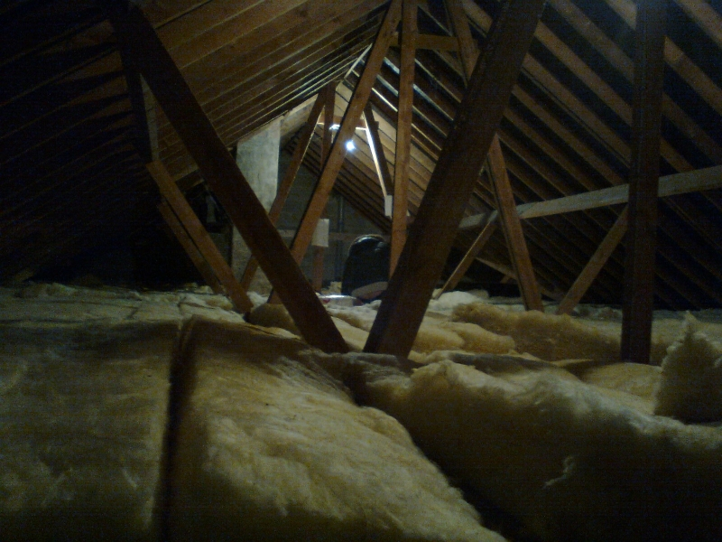 Our loft, before we lived in it