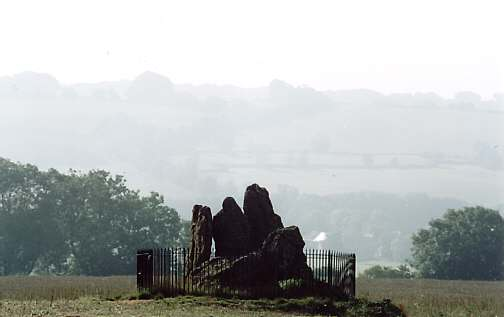 The Whispering Knights, near the Rollright Stones