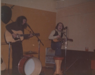 Wildgust live at a pub in Worcester, c. 1976